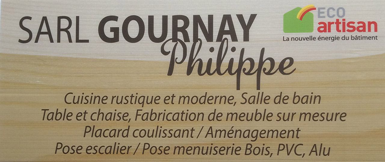 Logo de l'entreprise SARL GOURNAY PHILIPPE